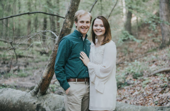 Oak Mountain Alabama Engagement Photography
