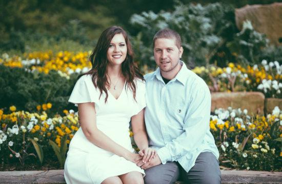 Birmingham Alabama Botanical Gardens Engagement Photography