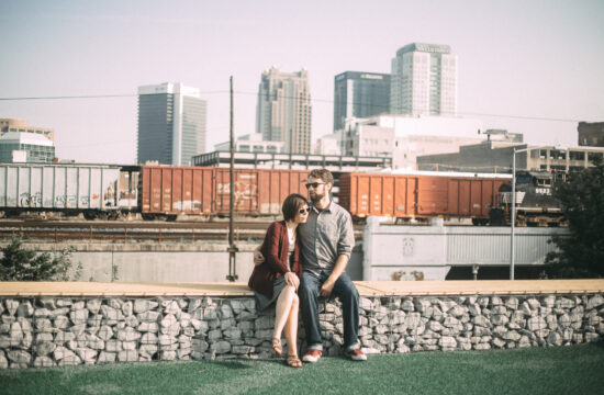 Railroad Park Birmingham Alabama Engagement Photography
