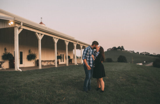Tennessee Engagement Photography White Dove Barn