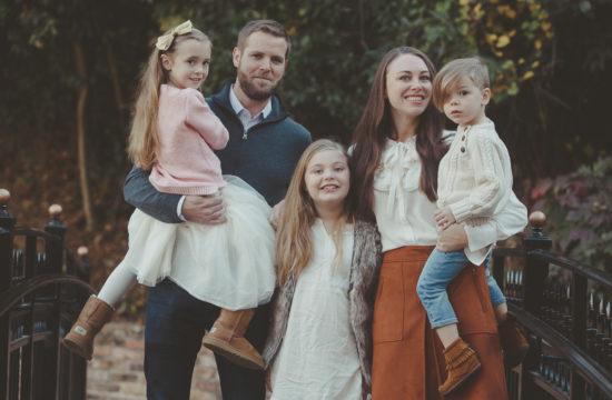 Tuscaloosa Alabama Family Portraits