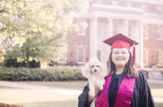 University of Alabama Graduation Portrait Photography