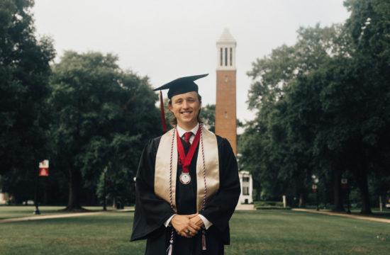 University of Alabama Graduation Portraits