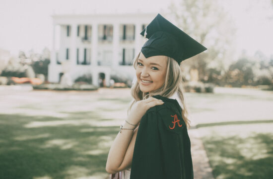University of Alabama Graduation Portraits Tuscaloosa