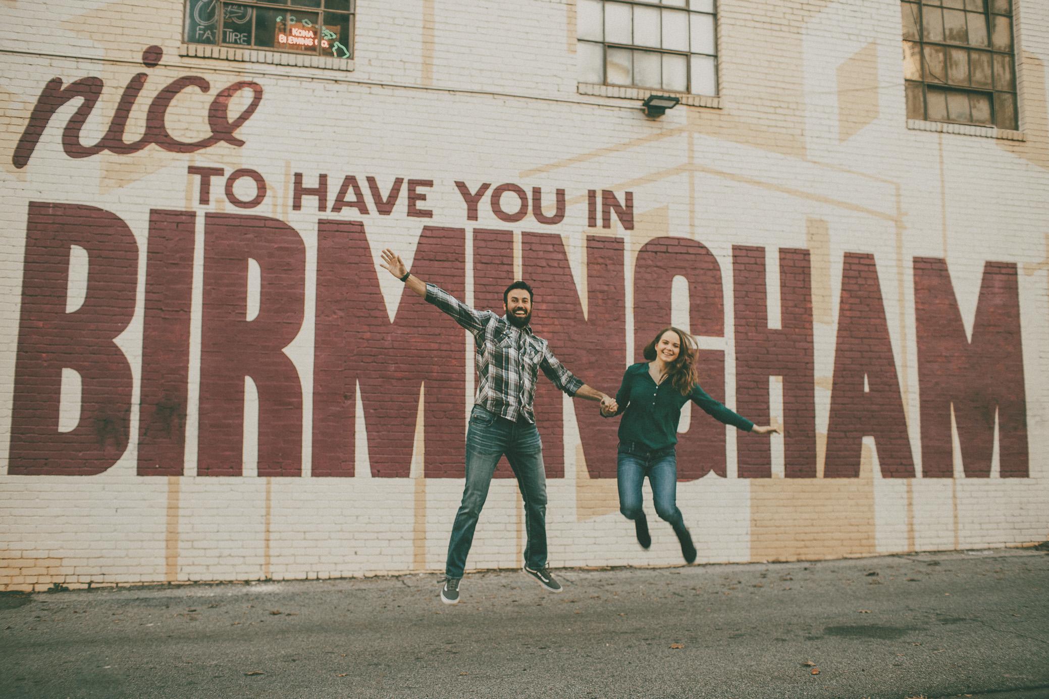 Birmingham Alabama Engagement Photography