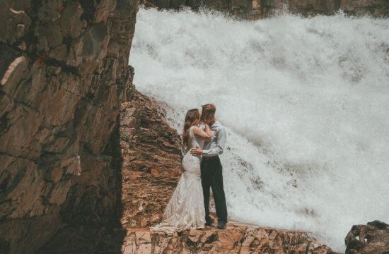 Wyoming Trash the Dress Photography Granite Falls
