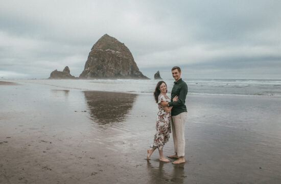 Cannon Beach Oregon Engagement Photography + Wedding Photography