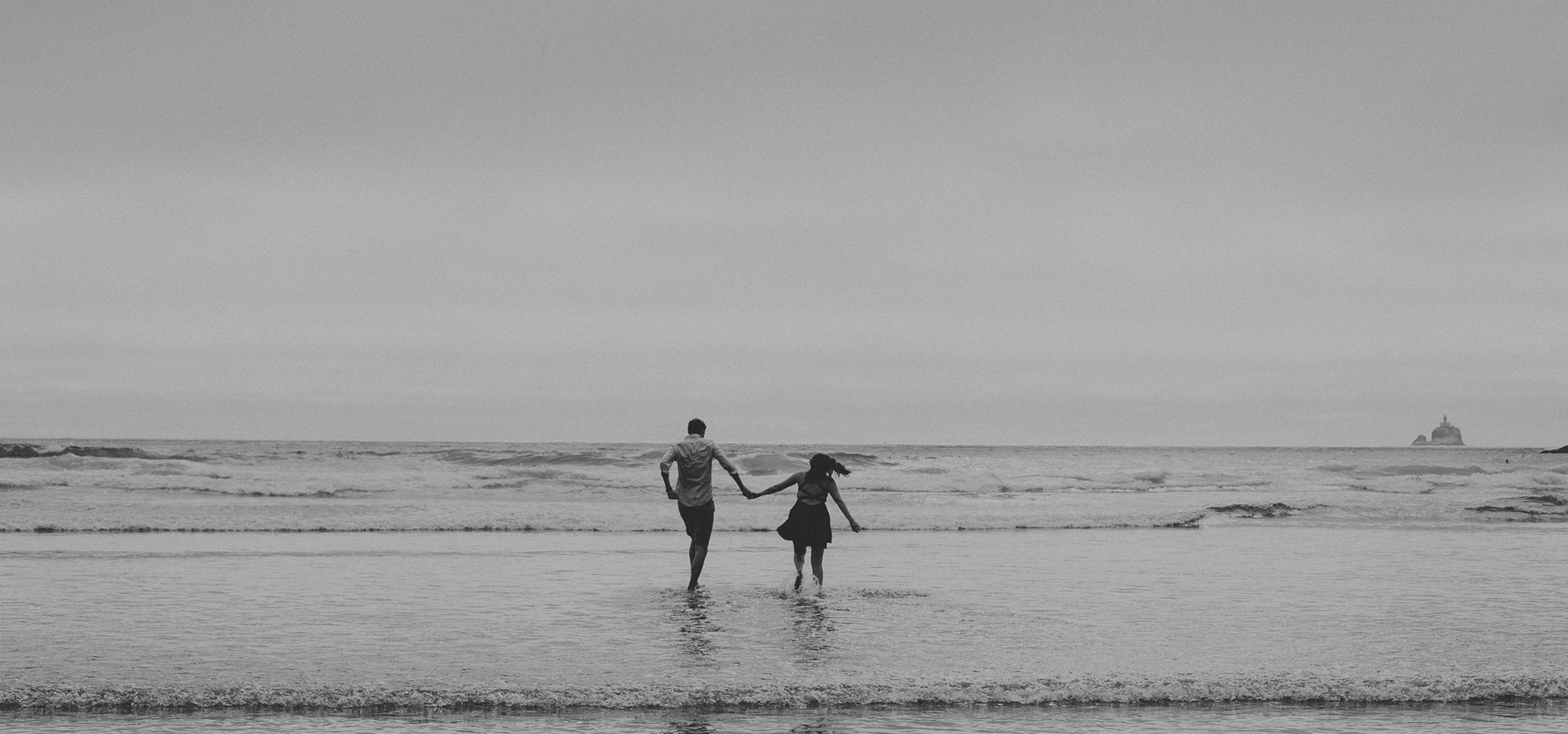 Rockaway Beach Oregon Wedding Photography + Elopement Photography