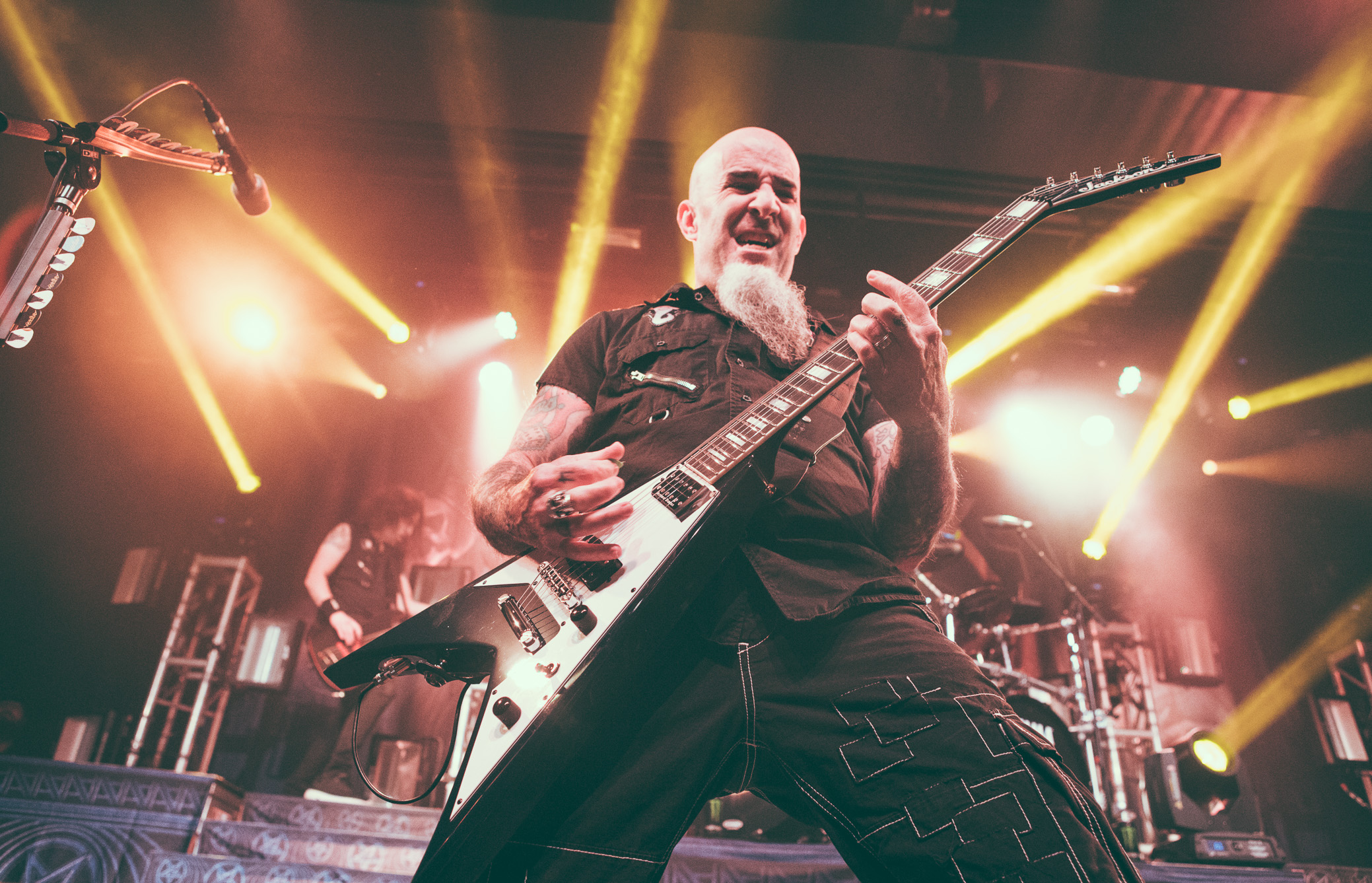 Anthrax Concert Photography