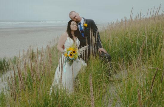 Astoria Oregon + Sunset Beach Wedding Photography