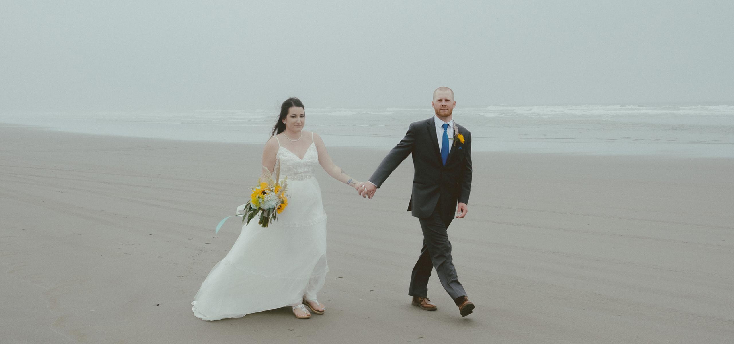 Bandon Oregon Wedding Photography + Elopement Photography