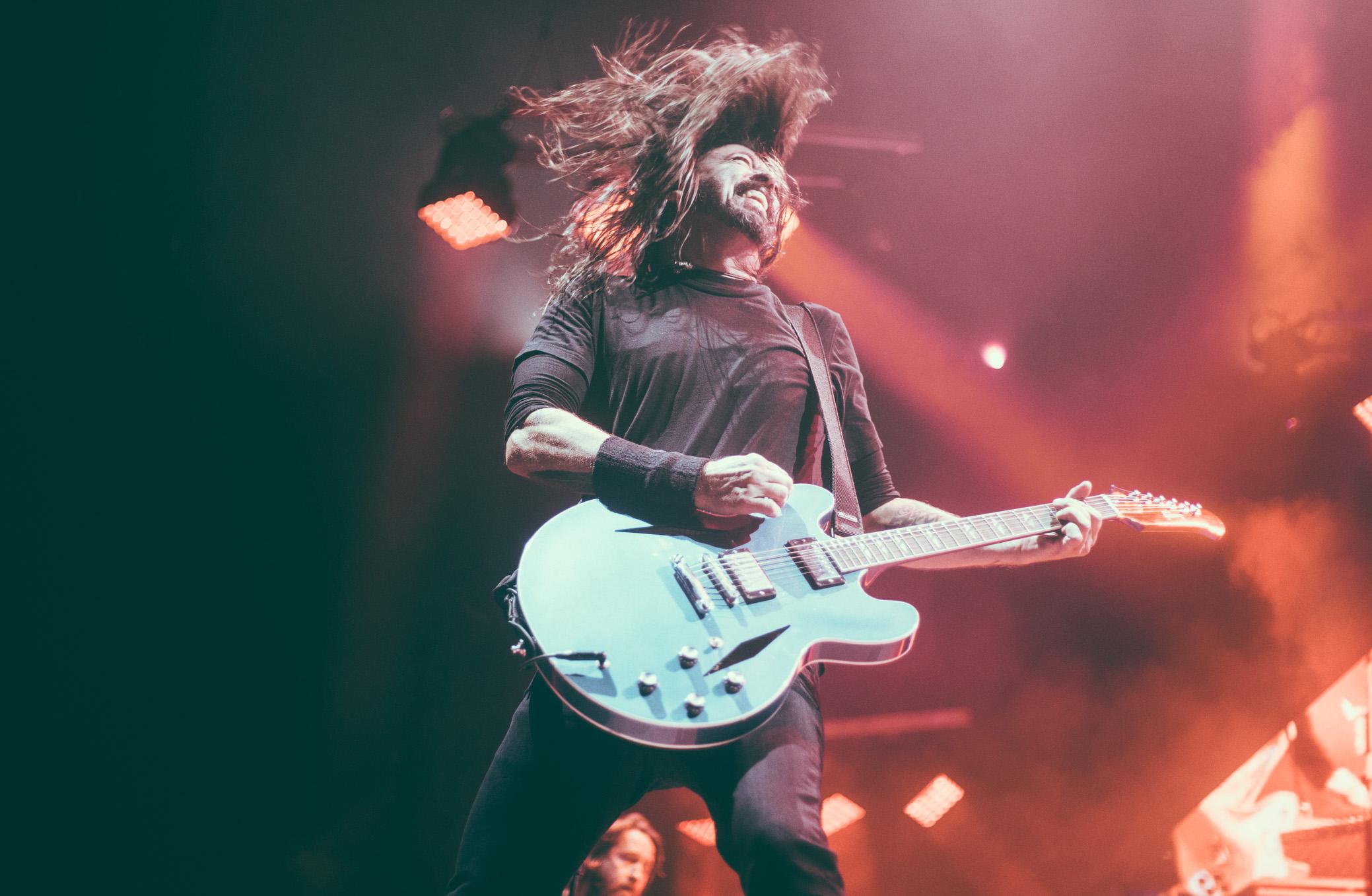 Foo Fighters Concert Photography Birmingham Alabama