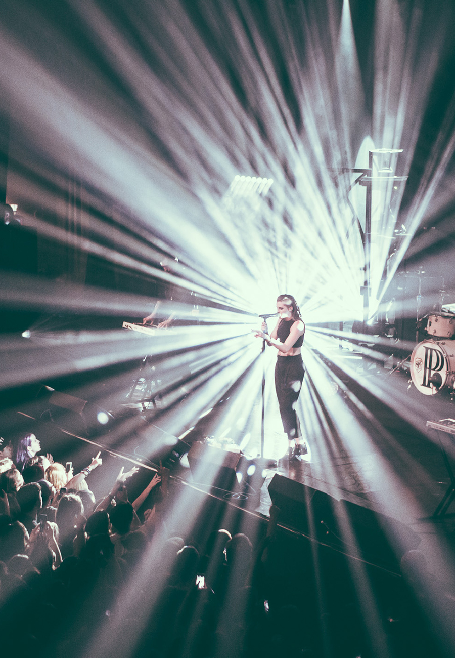 PVRIS concert photography