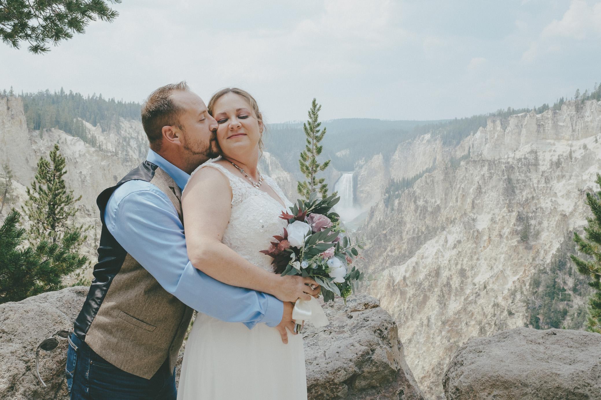 Yellowstone National Park Elopement Photography + Wedding Photography Cody Wyoming