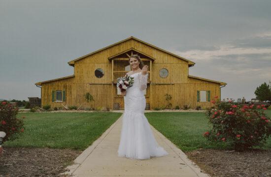 Dobson, North Carolina Bridal Portraits
