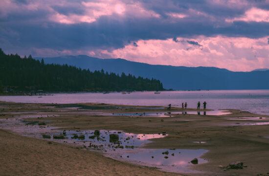 Kings Beach California North Lake Tahoe